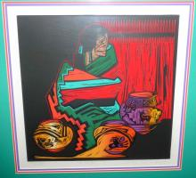 Amado Pena Tres Regalos Signed Numbered