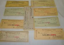 Euclid Beach Checks from 1930's-1940's Group of appox 75  Signed by the Humphreys