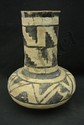Prehistoric Anasazi Pottery Tall Water Jar.