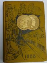 Nye & Riley's 1888 Railway Guide Book