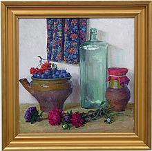Olga Kalashnikova (Russian, b. 1957) Oil on Canvas