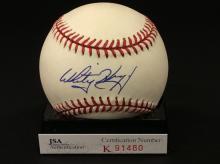 Whitey Herzog Autographed National  League