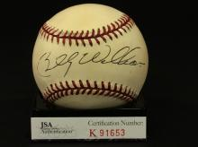 Billy Williams Autographed National League