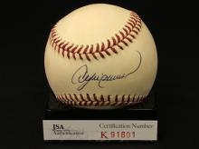 Andrew Dawson Autographed National League