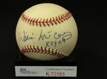 Willie McCovey Autographed National League