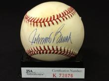 Johnny Bench Autographed National League