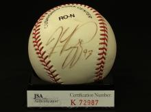 Mike Piazza Autographed National League