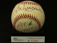 Don Newcombe Autographed National League