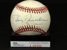 Bobby Richardson Autographed American League
