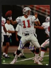 Drew Bledsoe Autographed Photo With COA