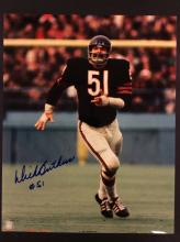 Dick Butkus AUtographed Photo With COA From