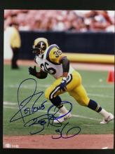 Jerome Bettis Autographed Photo With COA From