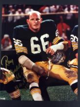 Ray Nitschke Autographed Photo With COA From