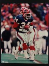 Thurman Thomas Autographed Photo With COA From