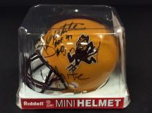 Danny White Autogrphed Mini Helmet With COA