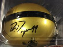 Bob Lilly Autographed Mini Helmet With COA