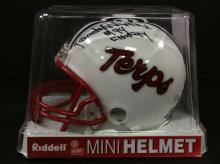 Randy White Autographed Mini Helmet With COA