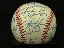 New York Mets 1997 Multi Signed National League