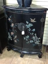 Oriental Corner Cabinet