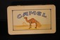 NEAT CAMEL CIGARETTE CASE WITH CARTON OF 50 UNOPENED MATCHES