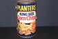 MOST UNUSUAL MR. PEANUT CORN CHIPS ROUND CAN GRILL EXCELLENT CONDITION AND NEAT 14 X 8