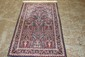 SEMI ANTIQUE ORIENTAL RUG IN EXCELLENT CONDITION THICK PILE 61 X 36 BEAUTIFUL FIELD