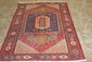 BEAUTIFUL HANDMADE ORIENTAL RUG IN NEAR MINT CONDITION MADE IN IRAN 5'3