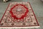 BEAUTIFUL BELGIUM MADE WOOL ORIENTAL STYLE RUG - NEAR MINT 92 X 67