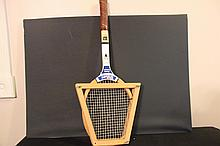 OLD JIMMY CONNORS WILSON TENNIS RACKET AND CONDITION JIMMY CONNORS MONACO