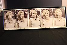 5 PICTURE COLLECTION OF YOUNG MARILYN MONROE