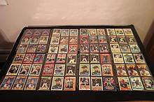 72 STAR PLAYER CARDS FROM THE 80S - GARY CARTER - GEORGE BRETT - KIRBY PUCKETT - CARLTON FISK - STEVE CARLTON & MORE - ALL CARDS GOOD CONDITION