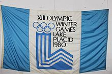 CHANCE OF A LIFETIME TO OWN 1 OF ONLY 3 FLAGS IN EXISTENCE TO BE FLYING OVER THE 1980 OLYMPICS AT LAKE PLACID - KNOWN AS THE MIRACLE ON ICE - 98