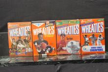 4 BOXES OF UNOPENED WHEATIES NEW OLD STOCK