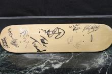 05 TOUR SIGNED SKATEBOARD