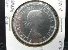 CANADA COMMEMORATIVE SILVER DOLLAR 1864- 1964