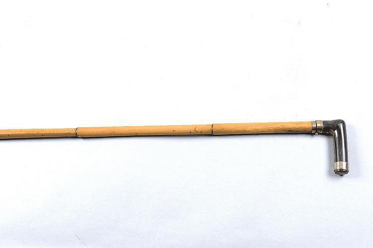 A CONTINENTAL 7MM CENTREFIRE WALKING STICK GUN 25