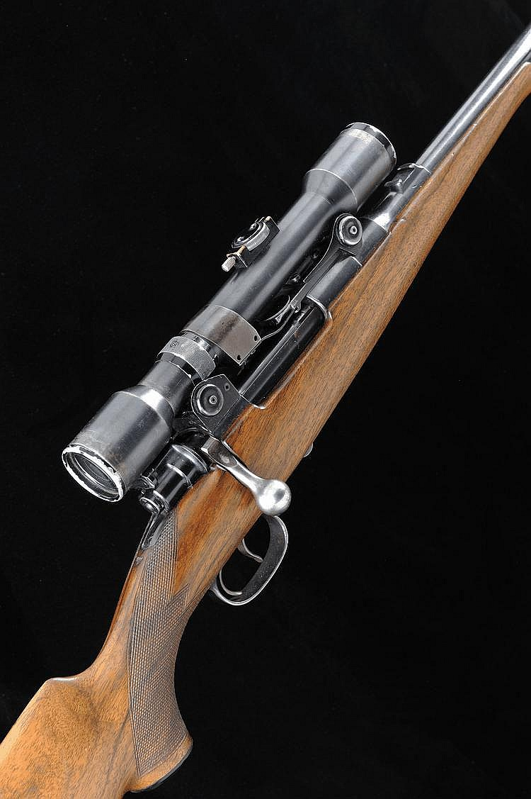 MAUSER A 6.5X57 BOLT-ACTION SPORTING RIFLE, NO.