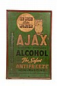 AJAX ANTIFREEZE ADVERTISING THERMOMETER.