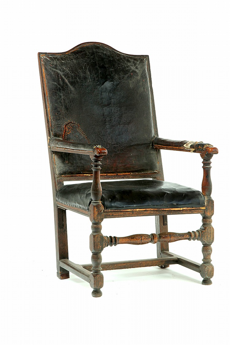 ****RARE UPHOLSTERED GREAT CHAIR.