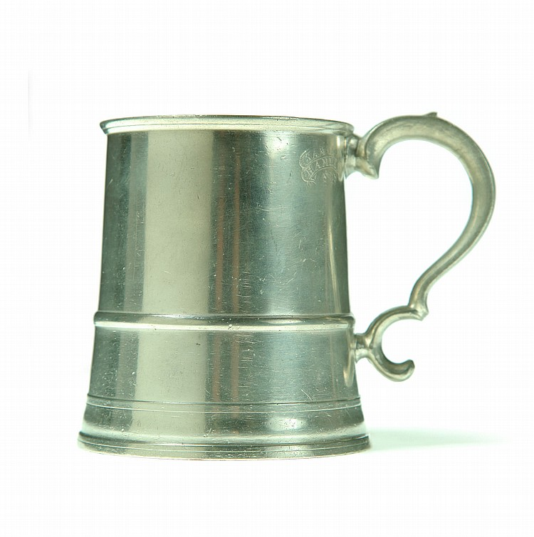 GOOD PEWTER MUG.