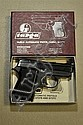 ***TARGA PISTOL. Itailian made 25 caliber with box.