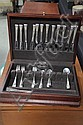 SET OF STERLING SILVER FLATWARE.