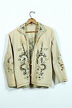 EMBROIDERED JACKET.