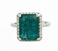 6.01 CT EMERALD RING
