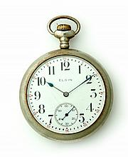 ELGIN NICKEL POCKET WATCH
