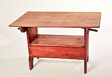 HUTCH TABLE.