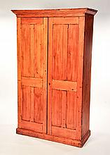 COTTAGE-STYLE VICTORIAN LINEN PRESS.
