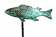 FISH WEATHERVANE.