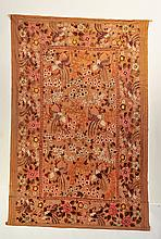 CREWEL WORK WALL HANGING.
