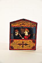 PUNCH AND JUDY MECHANICAL BANK.